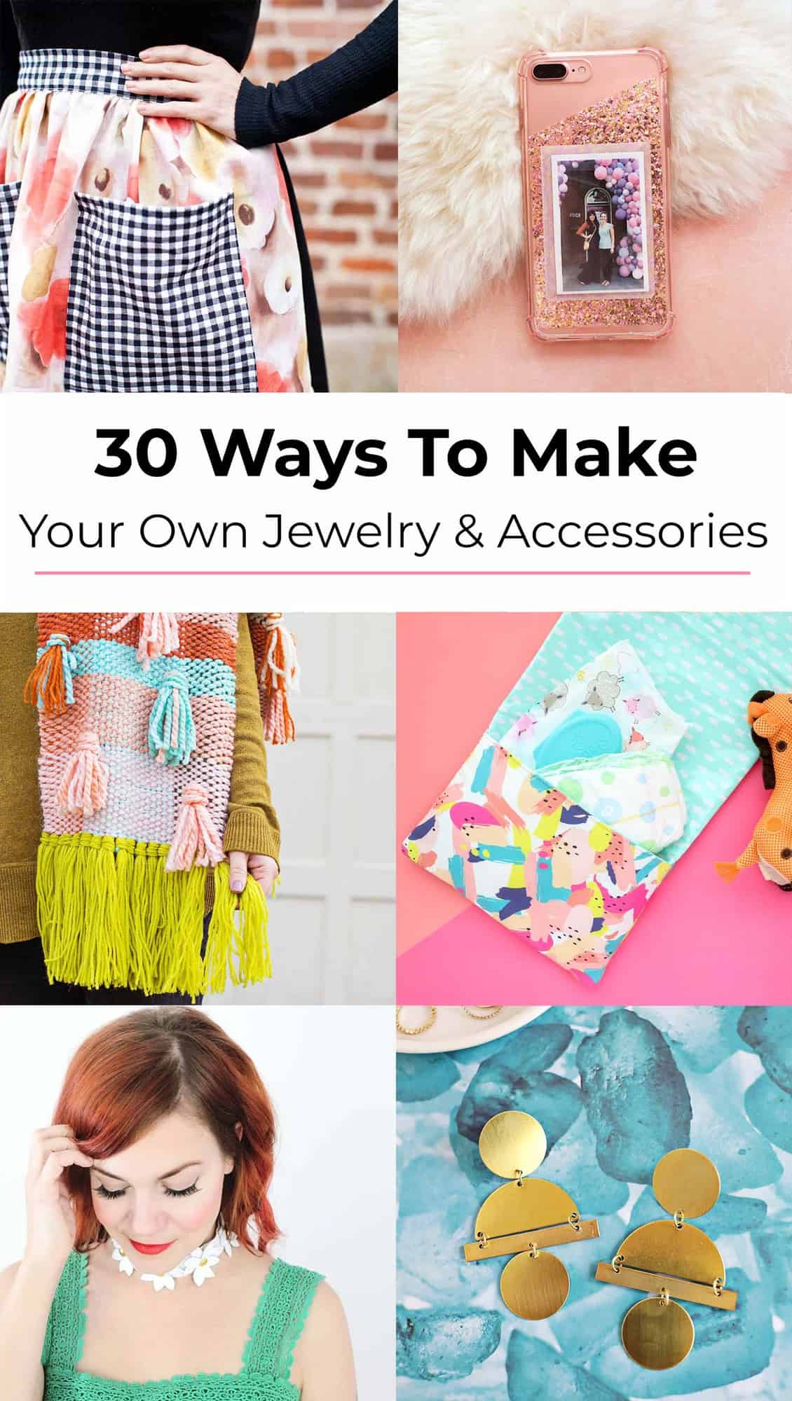 30 jewelry and accessories DIYs