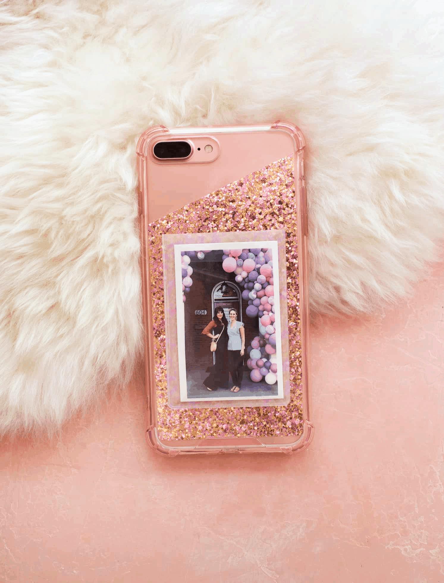 DIY cell phone case