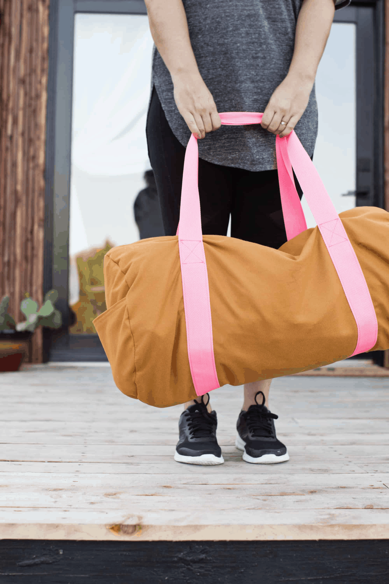 Gym bag DIY