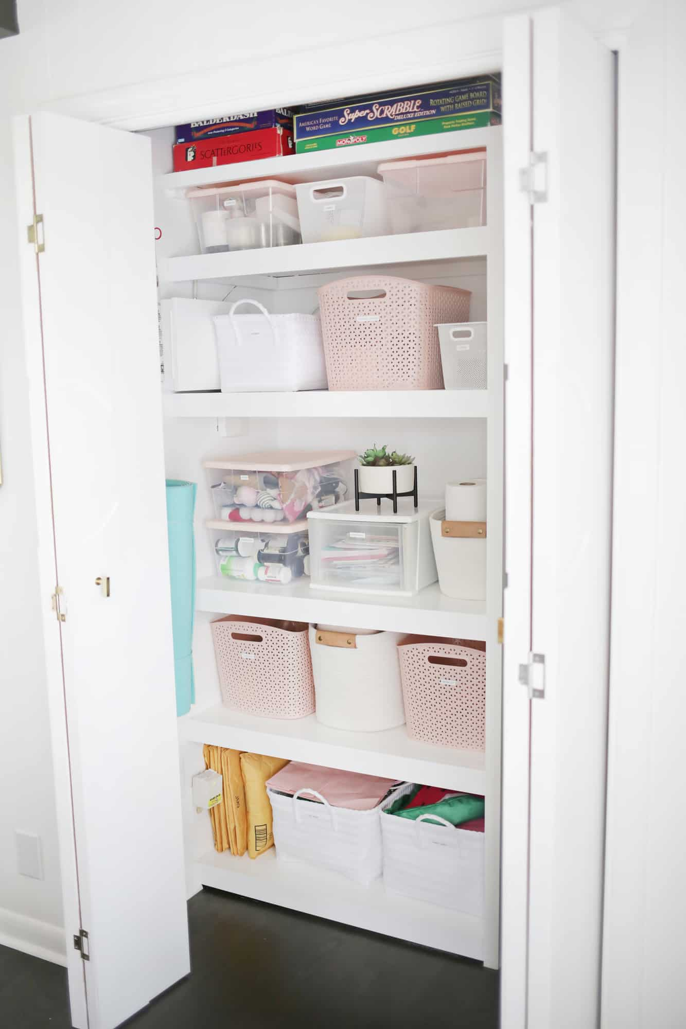 How I Organized My Hall Closet in One Afternoon Click through for tips 1 10