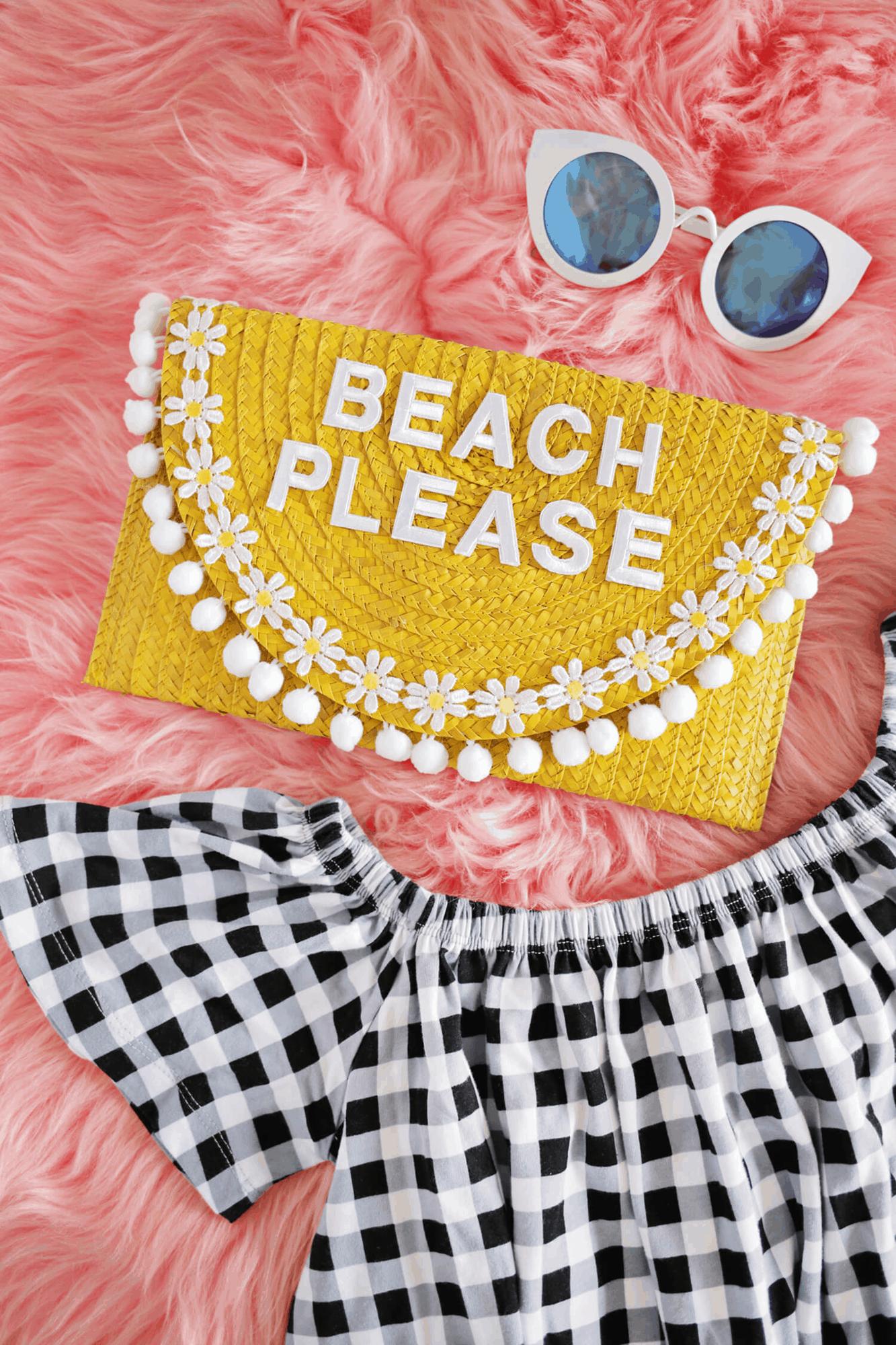 Vacation bag DIY