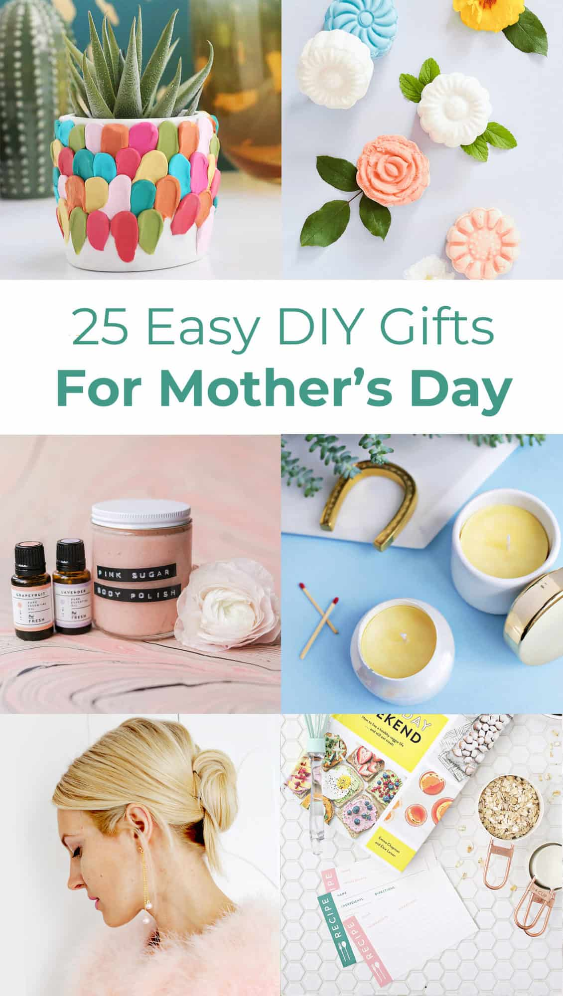 25 Easy Diy Gift Ideas For Mother S Day