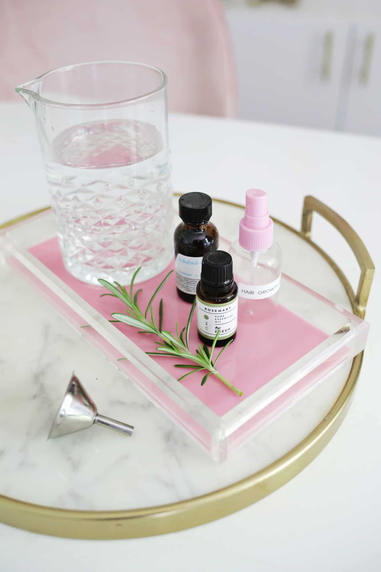 Easy Rosemary Hair Growth Spray A Beautiful Mess