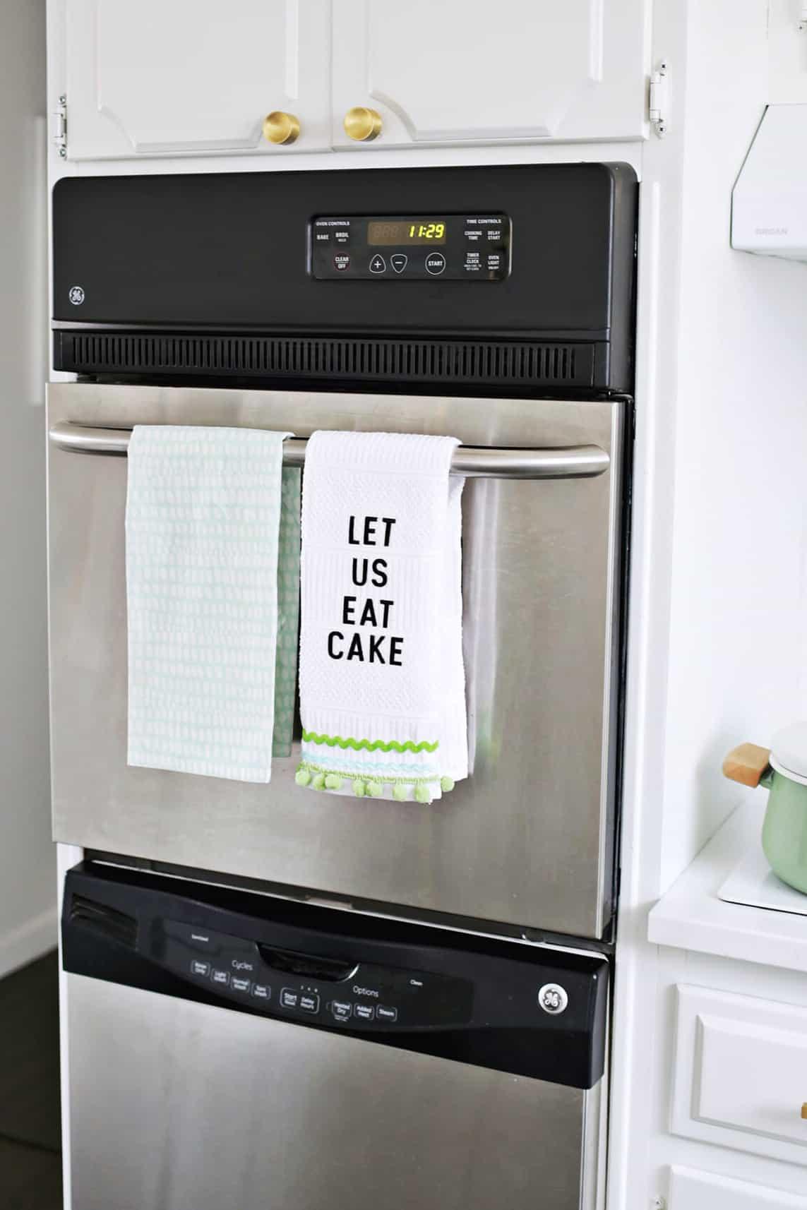 No sew kitchen towel DIY.dms