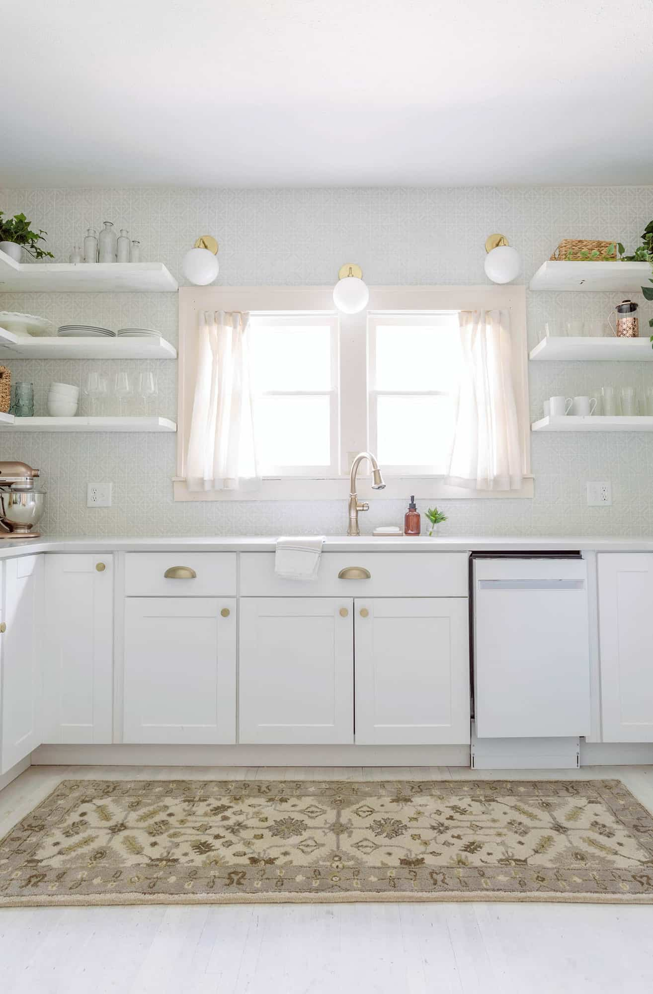 Holiday House Kitchen Before After A Beautiful Mess