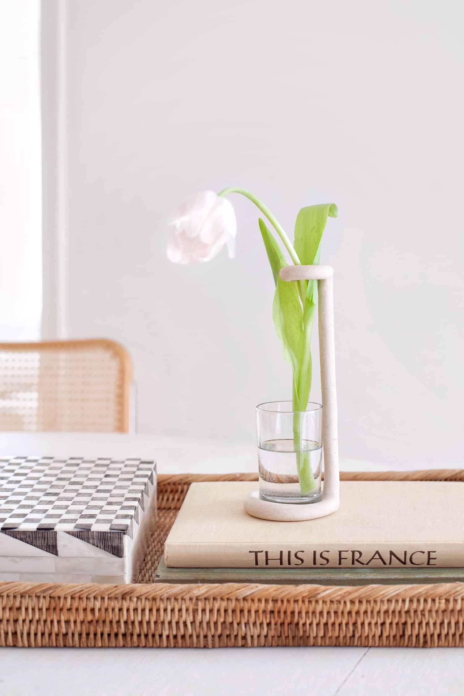 DIY Polymer Clay Bud Vase