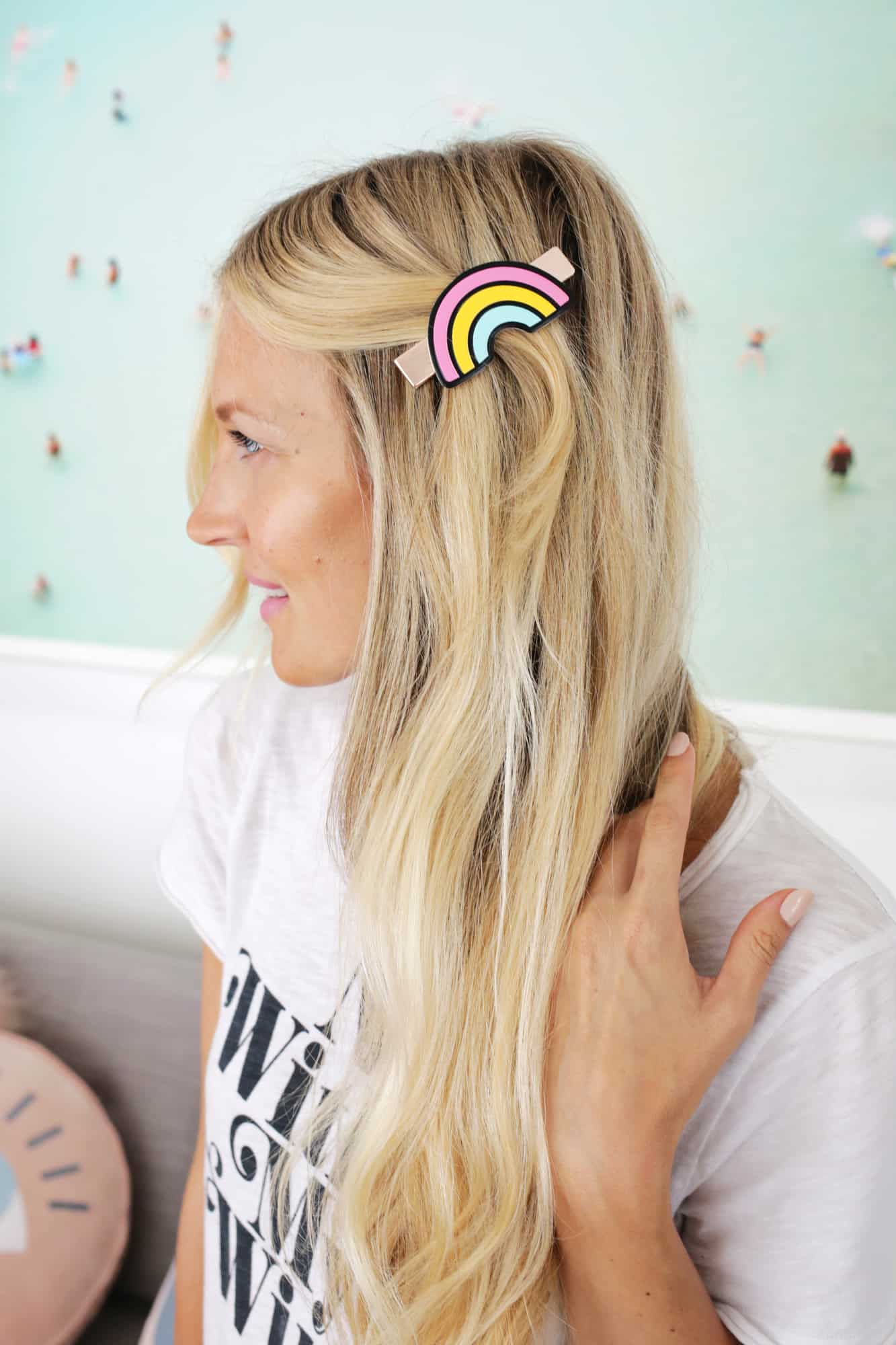 3 Trendy DIY Hair Clips So Easy Click through for tutorial 1 3