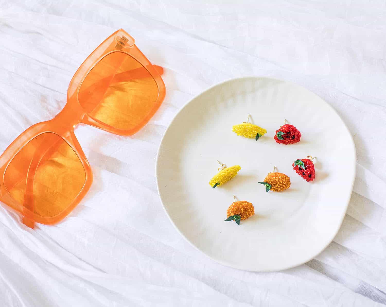 DIY glass seed bead jewelry
