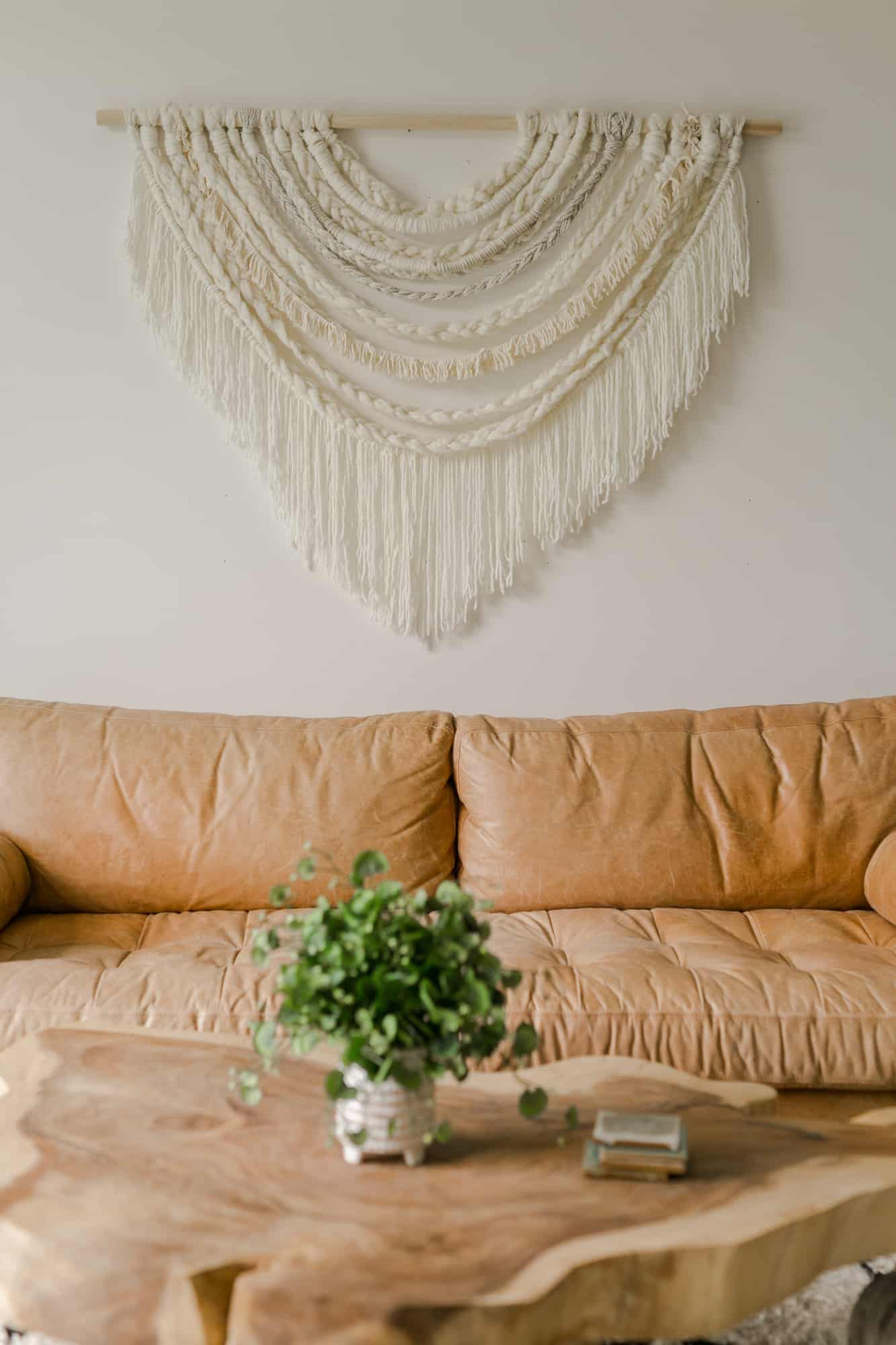 Large Scale Braided Wall Hanging Diy A Beautiful Mess