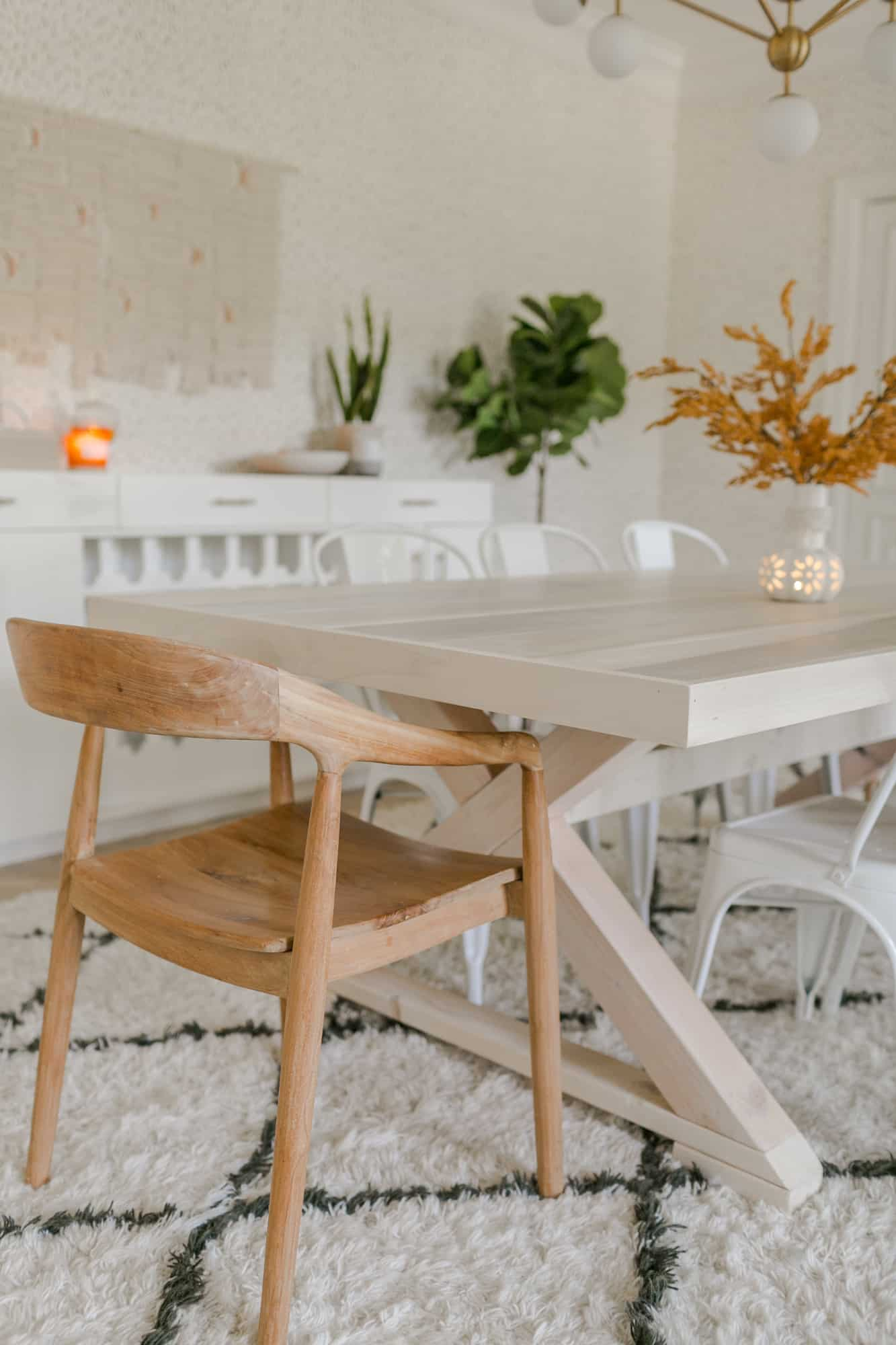 Modern Farmhouse Table Diy A Beautiful Mess