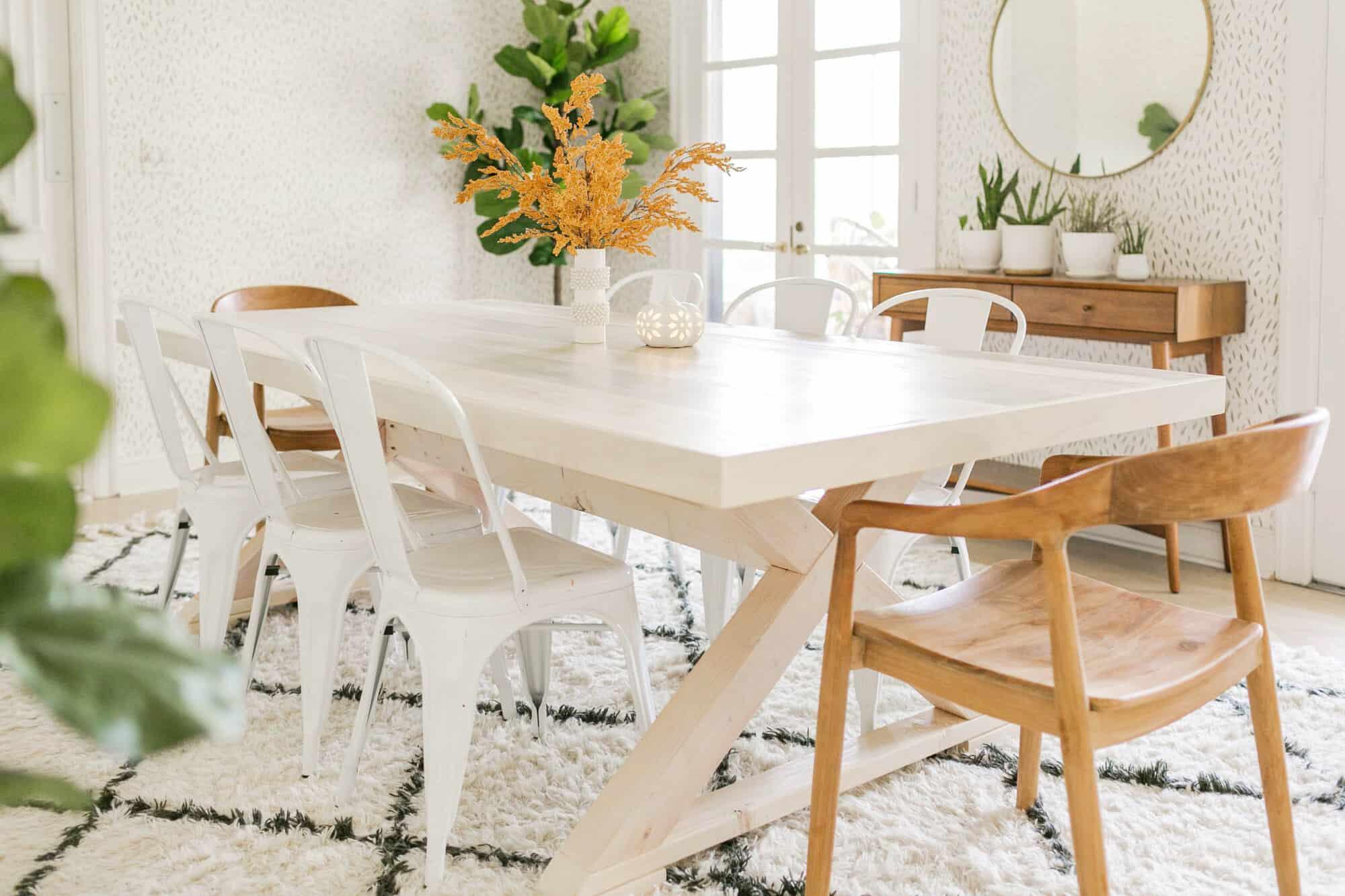 Modern Farmhouse Table Diy A