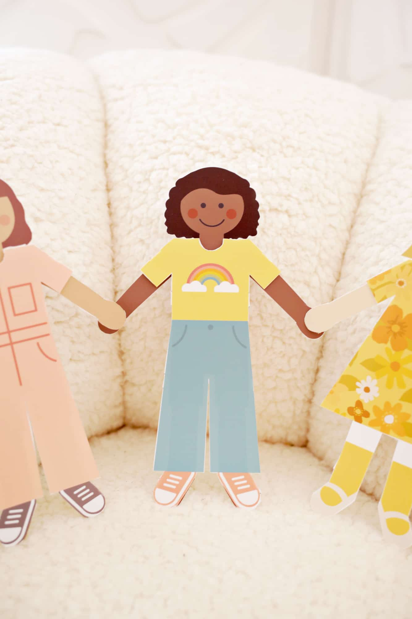 Diy Paper Dolls With Free Printables A Beautiful Mess
