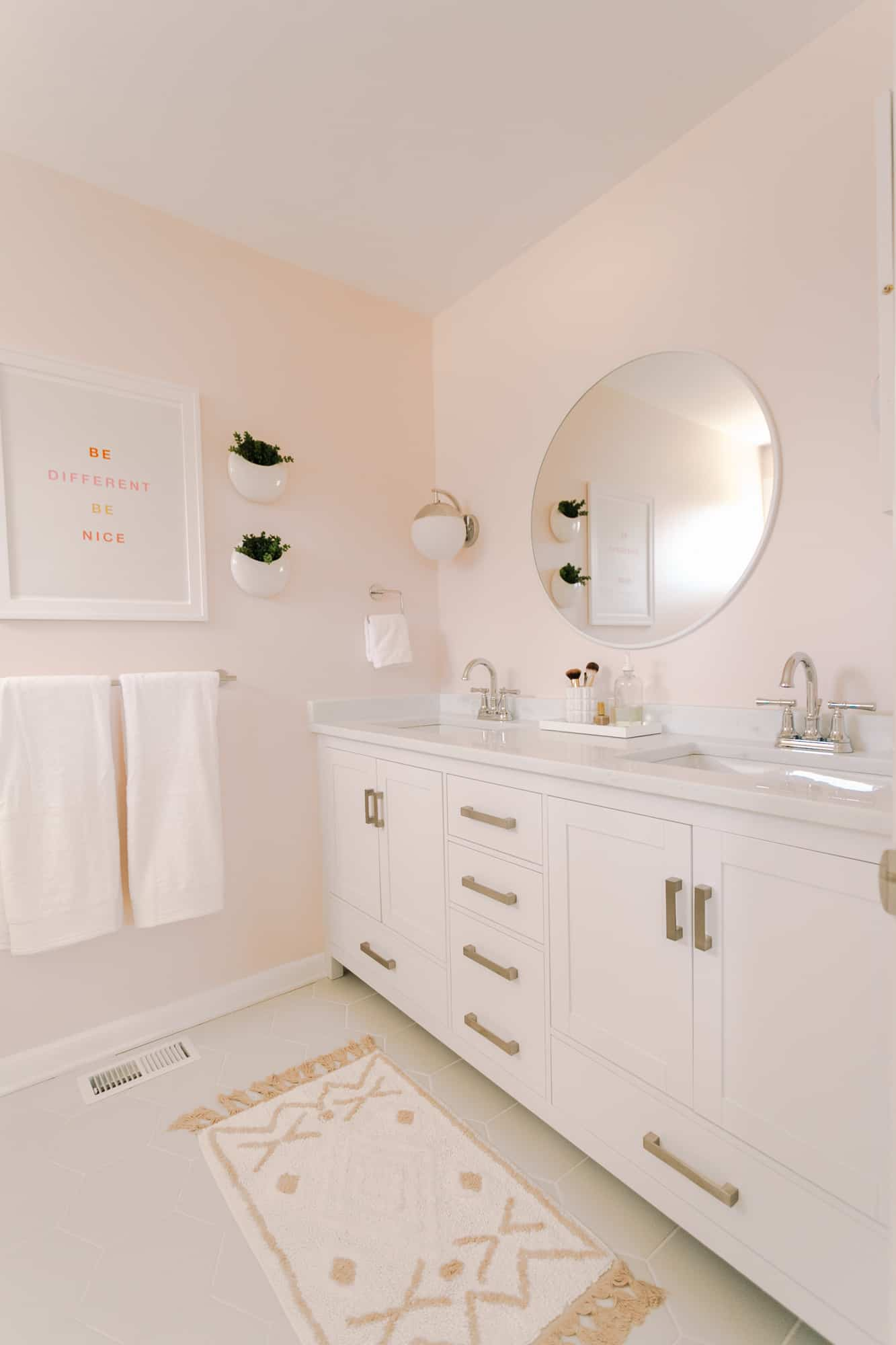 Laura S Master Bathroom Makeover Before After A Beautiful Mess