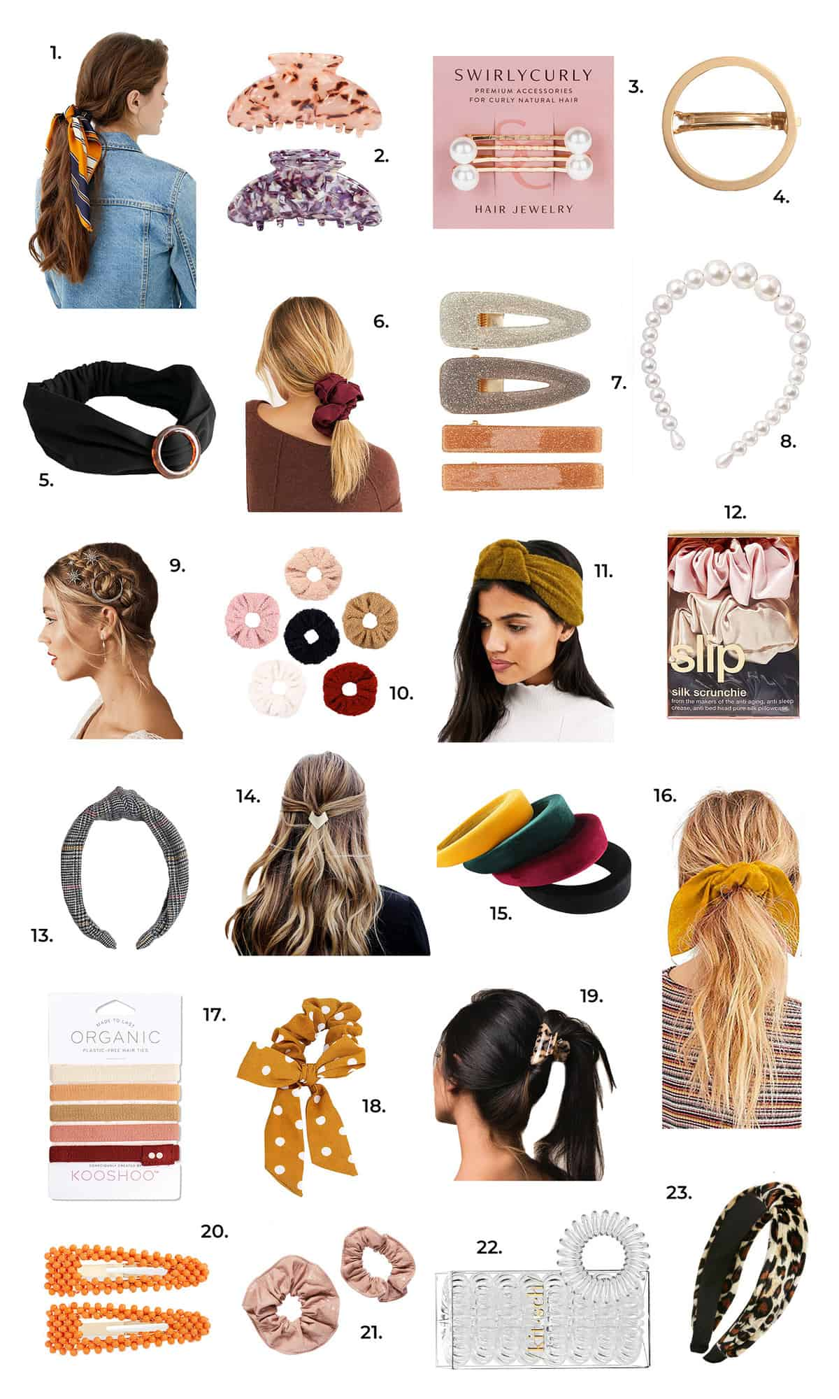 Cute Accessories For Any Hair Type - A Beautiful Mess