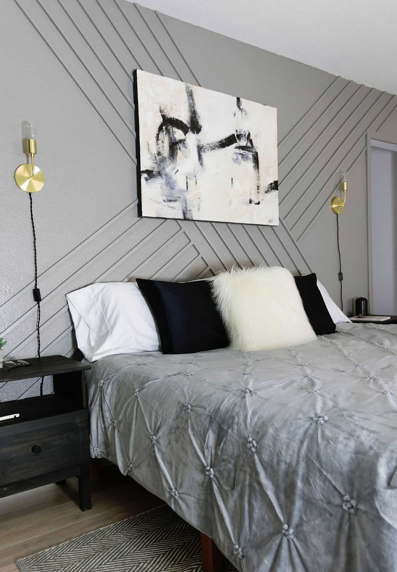 Diy Trim Accent Wall Giveaway Closed A Beautiful Mess