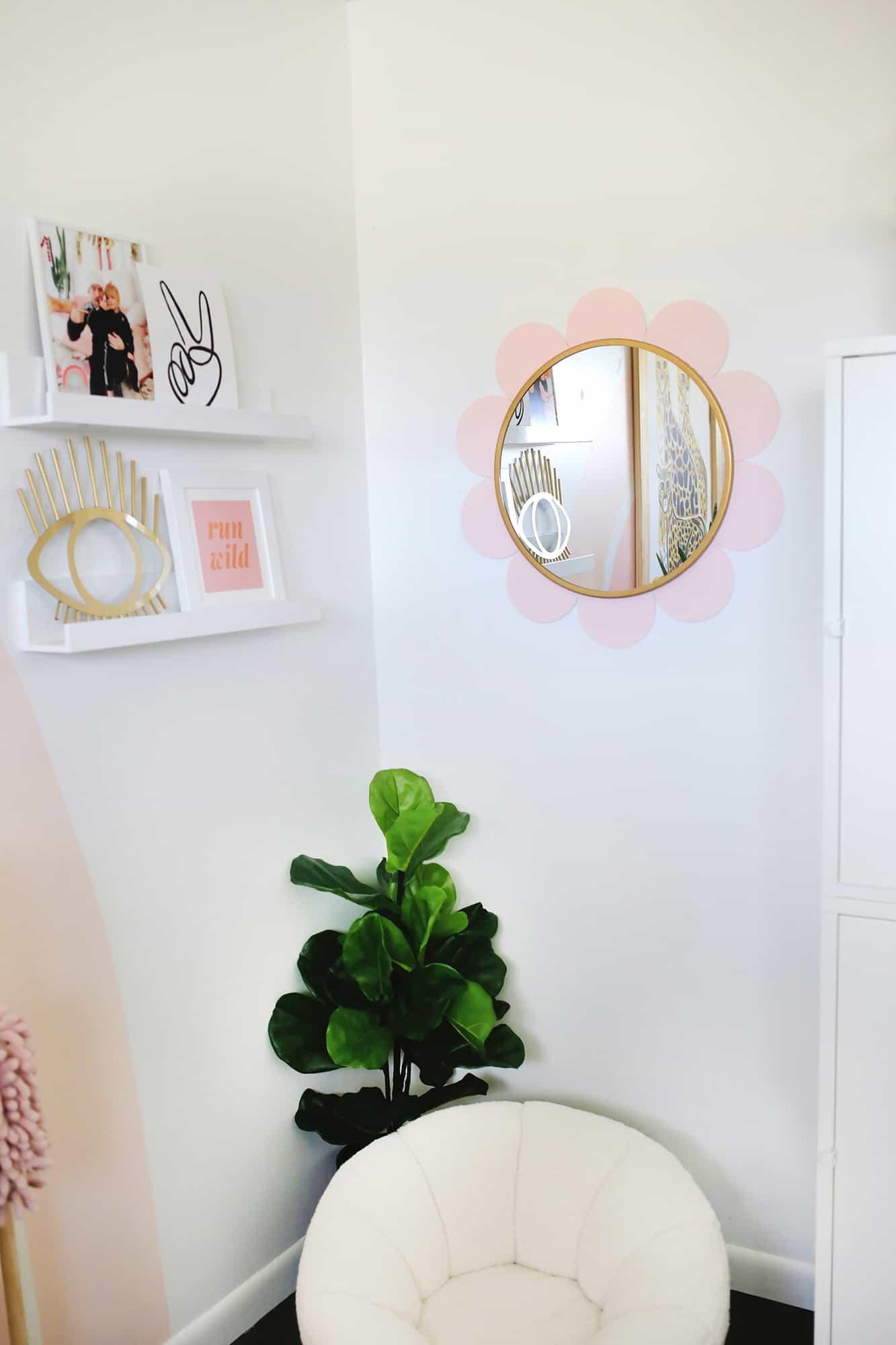 Flower Mirror Diy A Beautiful Mess