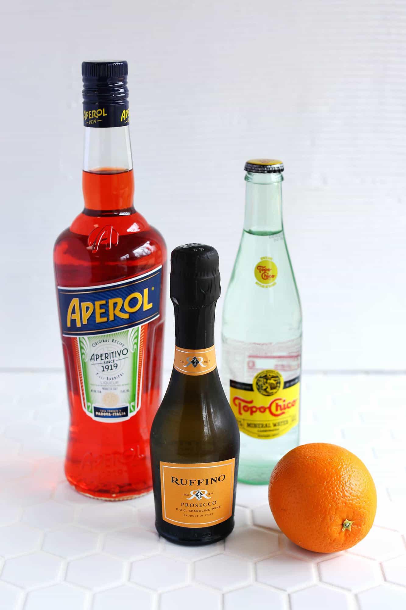 Ricetta Spritz Aperol E Prosecco.Aperol Spritz For One A Beautiful Mess