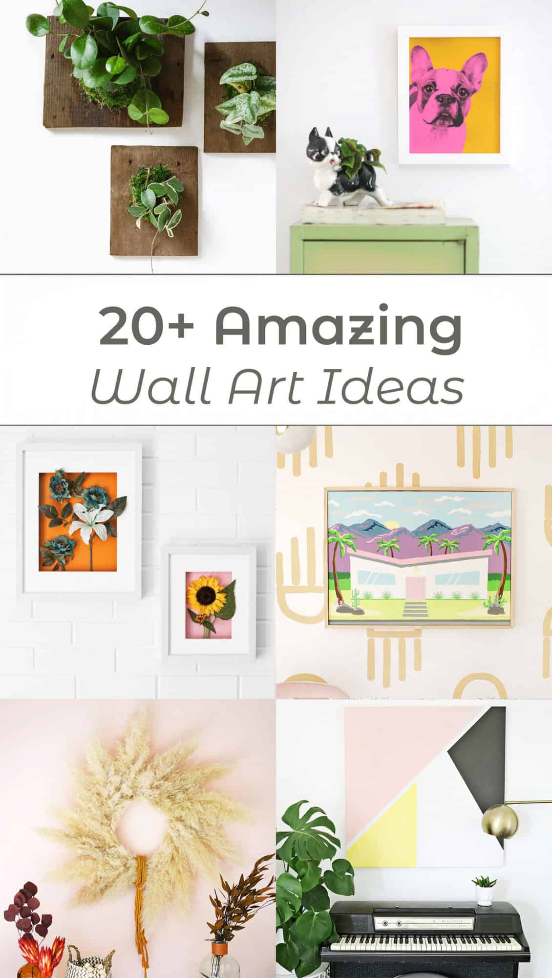 20 Amazing Diy Wall Art Ideas A