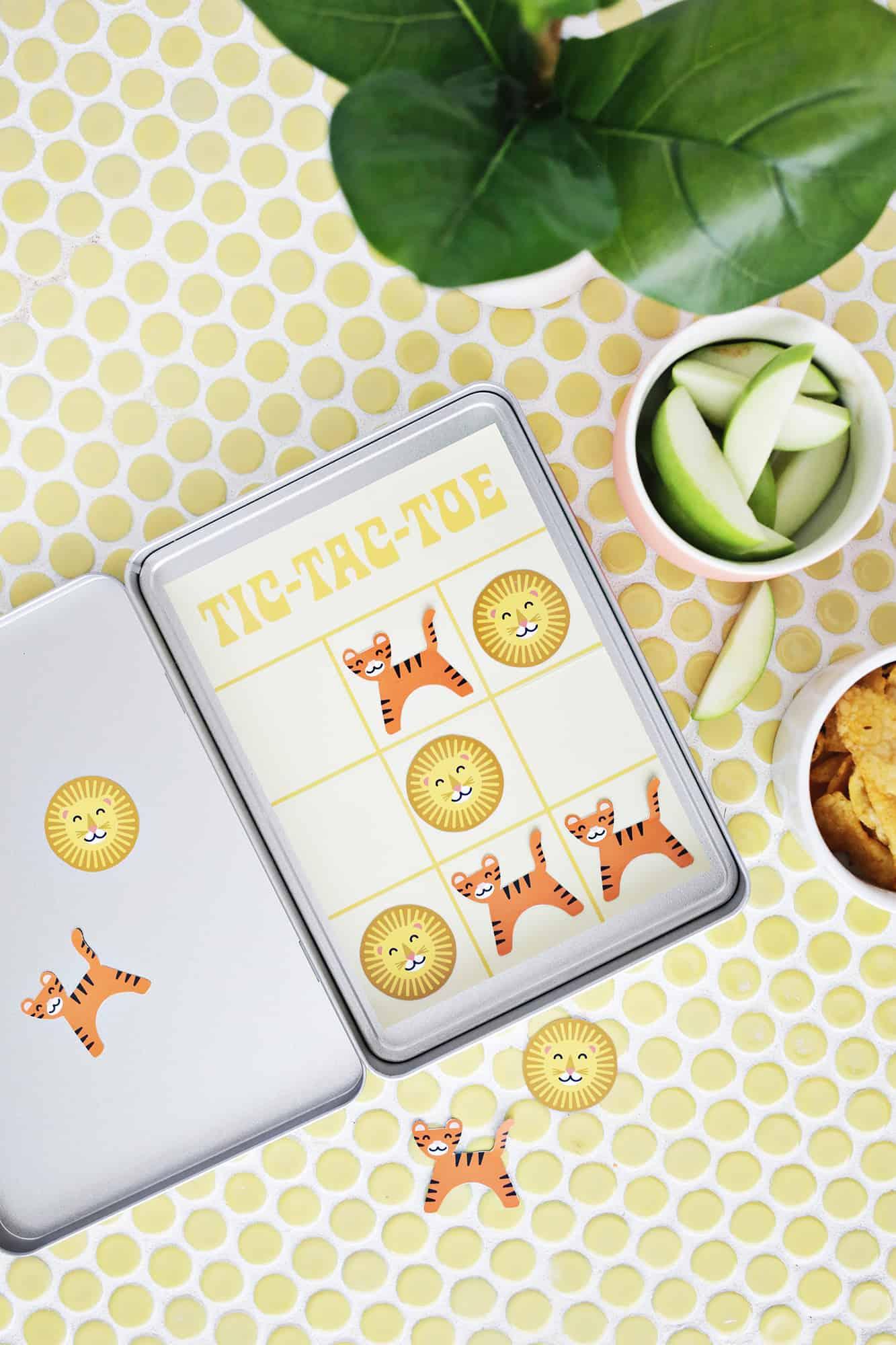 Portable Tic-Tac-Toe Game