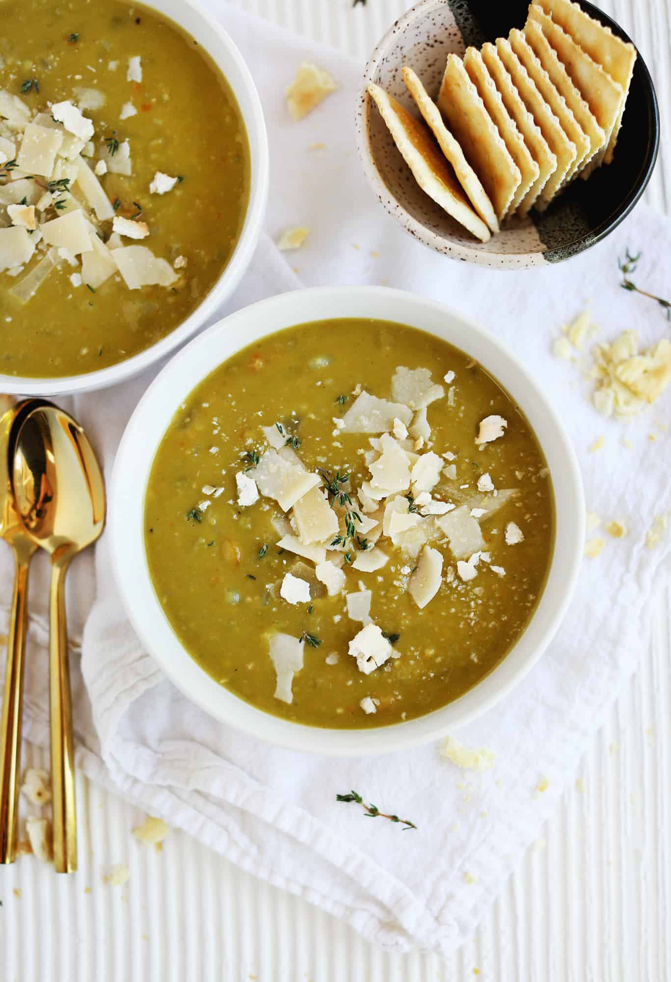 Split Pea and Potato Soup (Vegetarian)