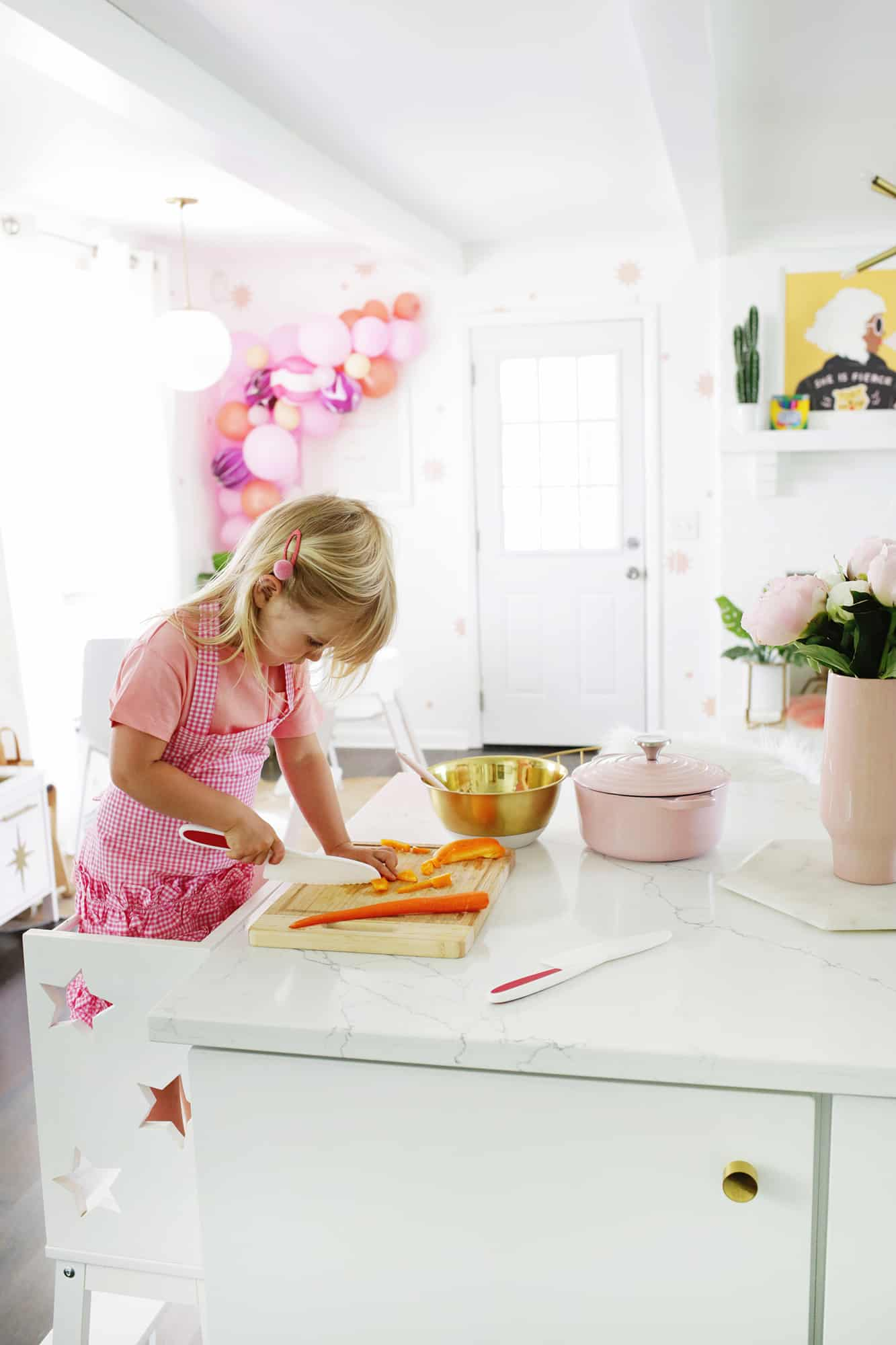 How To Start Kids Helping In The Kitchen!
