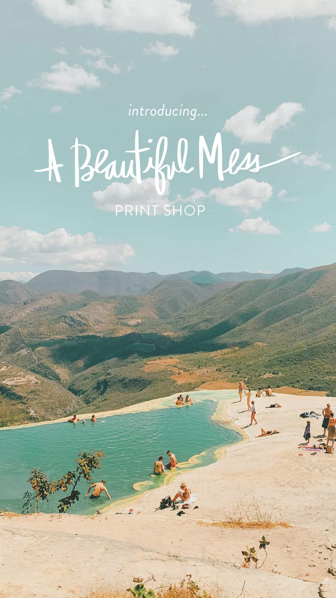 Introducing the A Beautiful Mess Print Shop!
