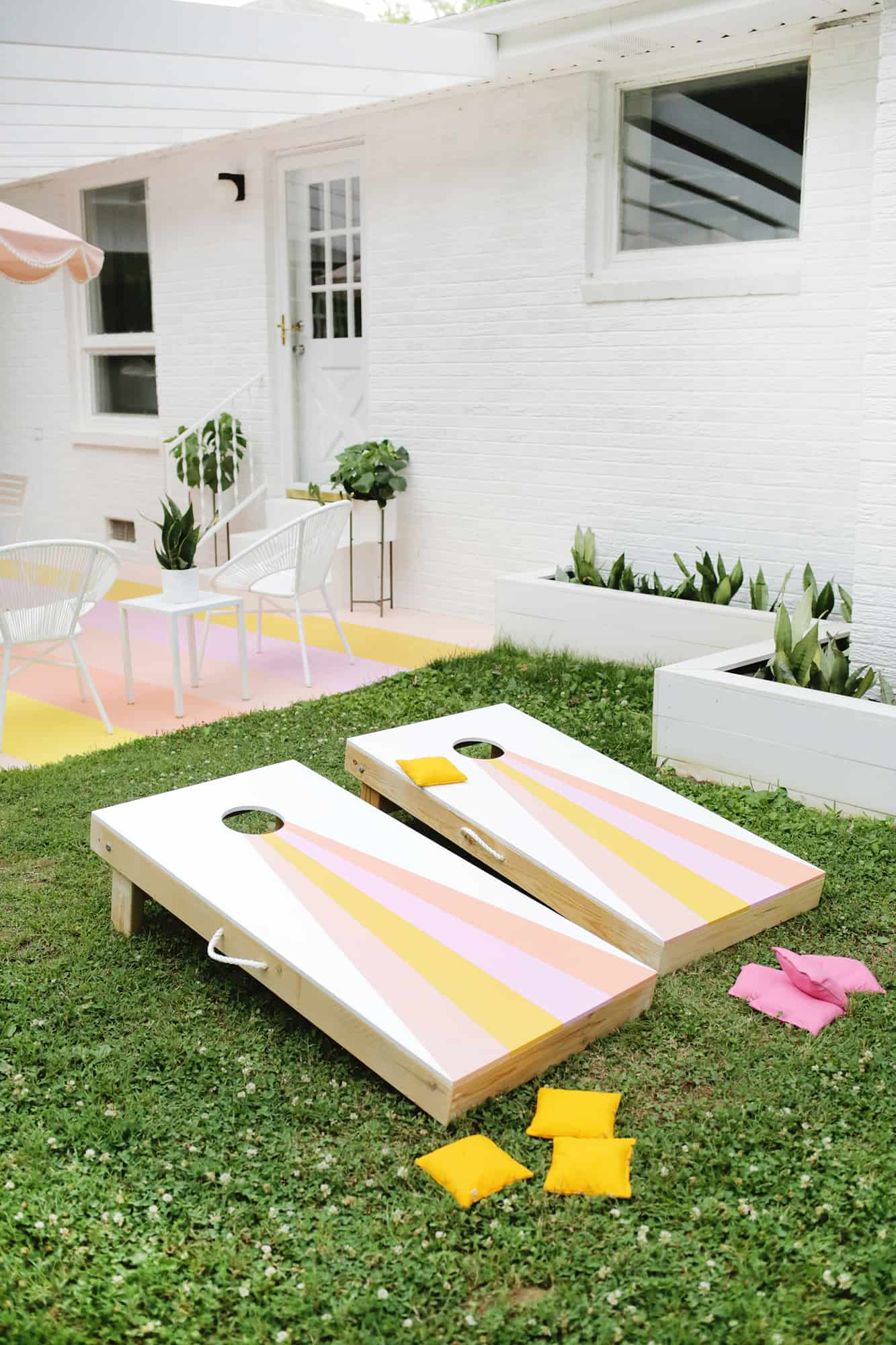 Cornhole Yard Game DIY