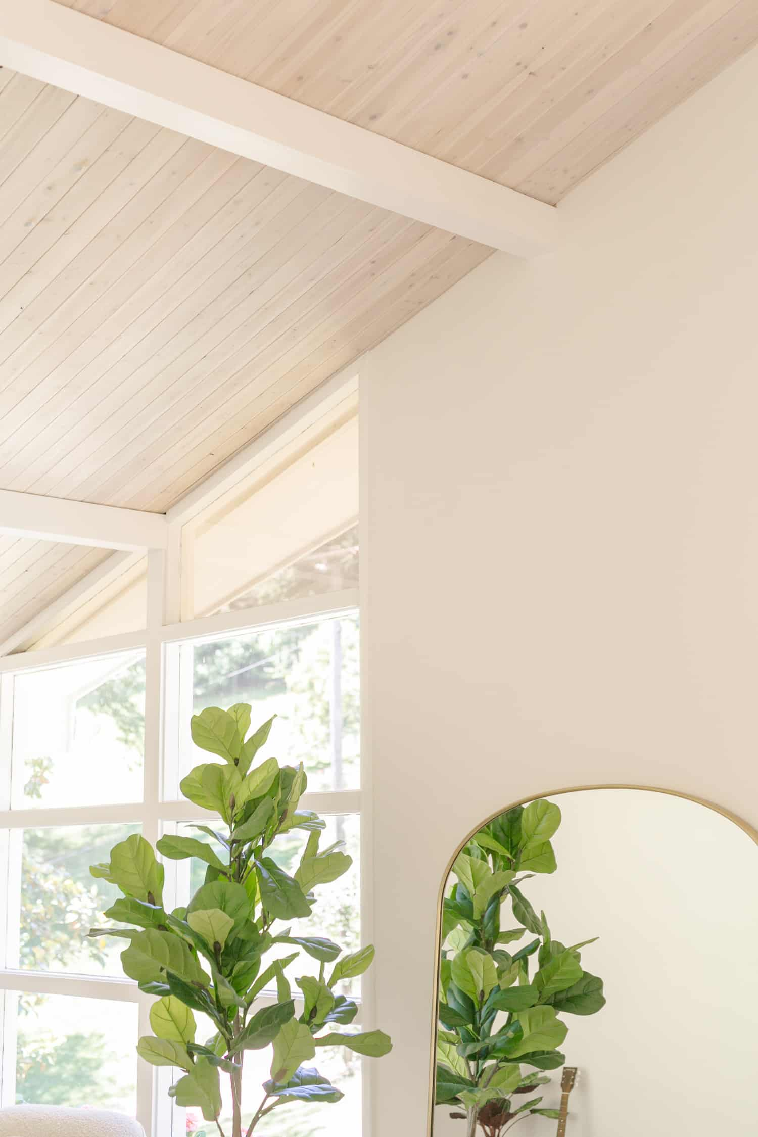 DIY Paneled Ceiling (How to Cover Popcorn Ceilings)