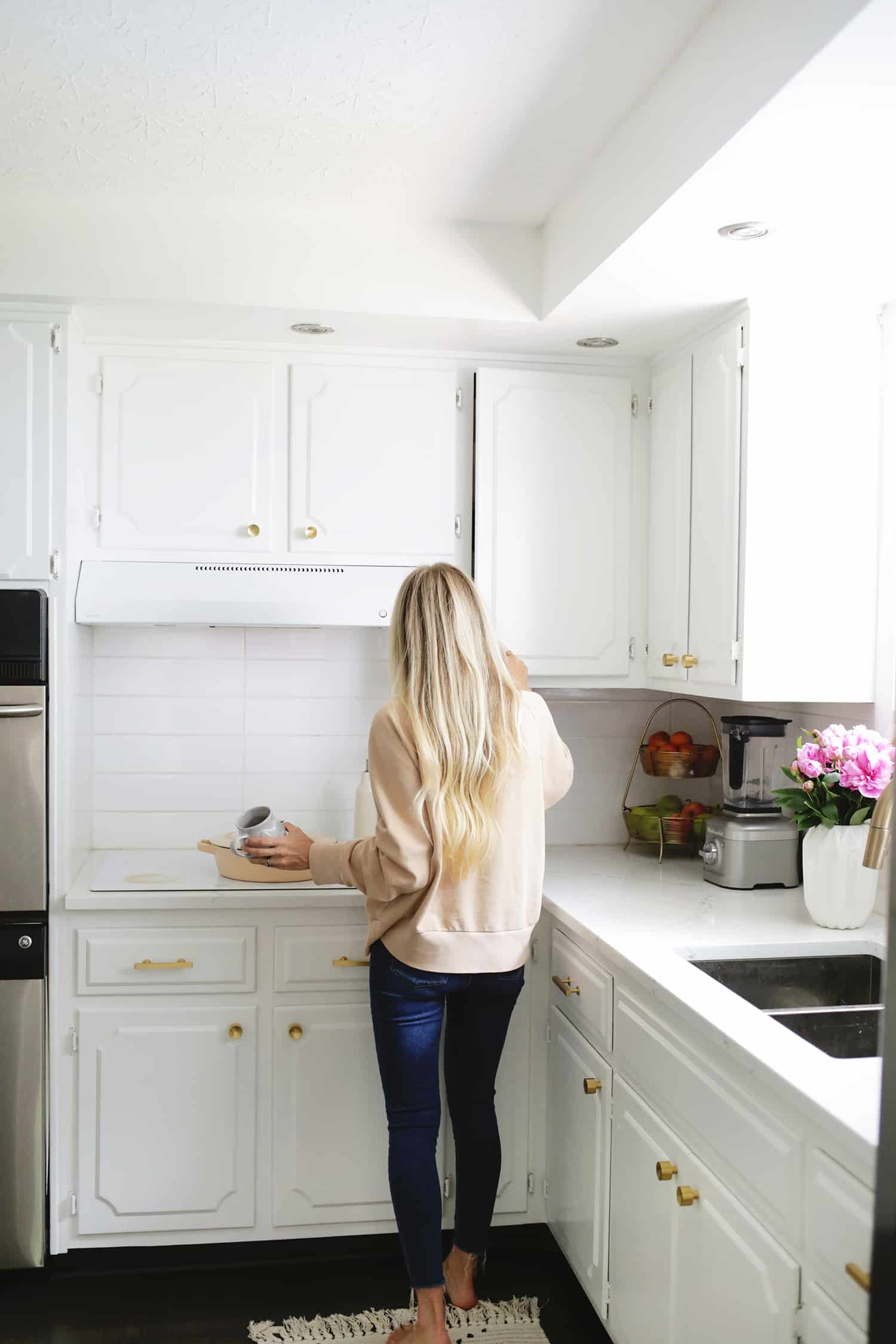 Kitchen Cabinets Nashville How I Refreshed My Kitchen Cabinets In One Afternoon   A Beautiful