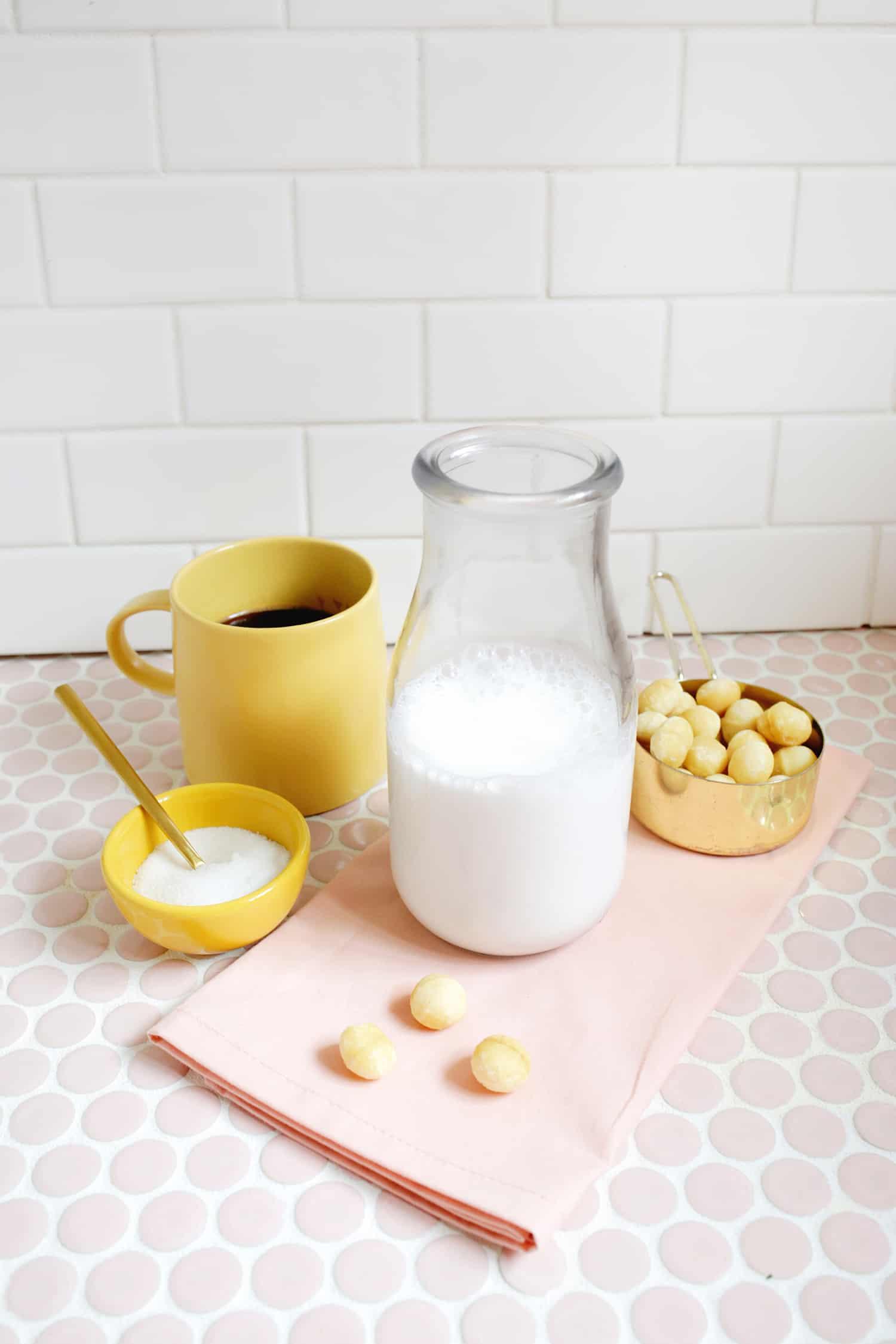 Macadamia Nut Coffee Creamer