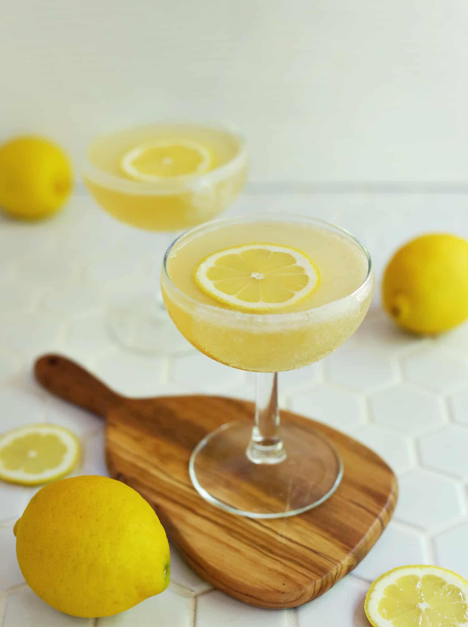 Lemon Drop Martini (Plus Mocktail Version!)