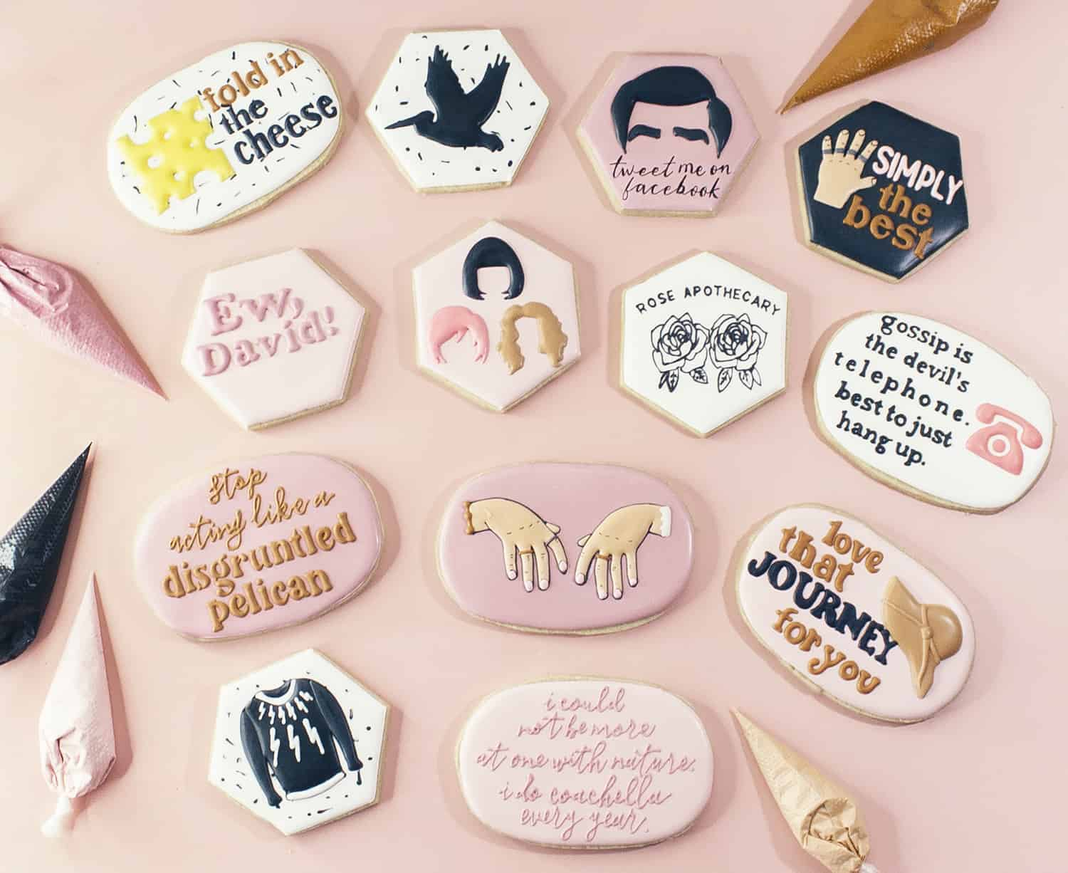 3 Ways to Add Lettering to Sugar Cookies