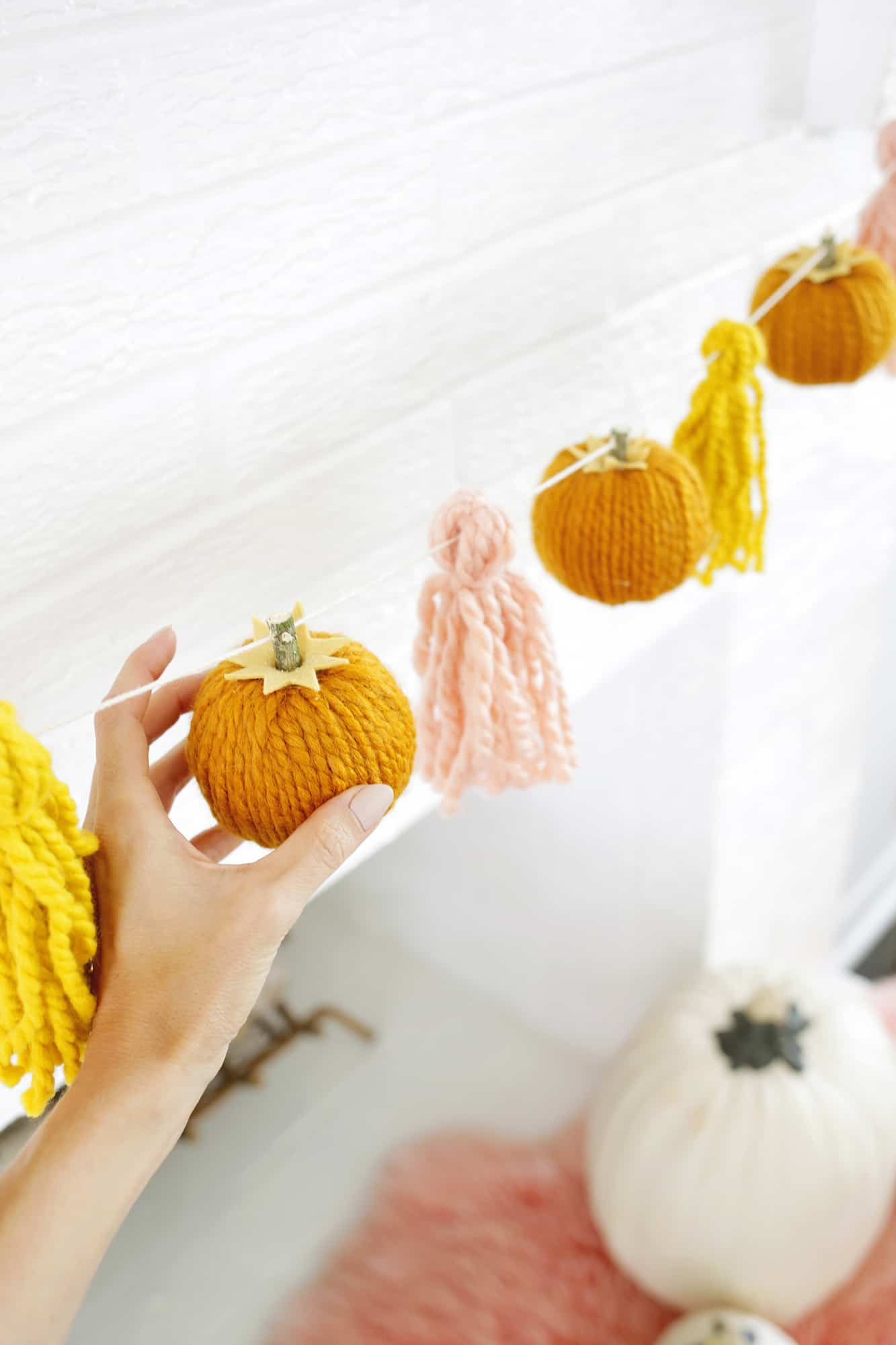 Tips For Filling A Fireplace With Pumpkins A Beautiful Mess