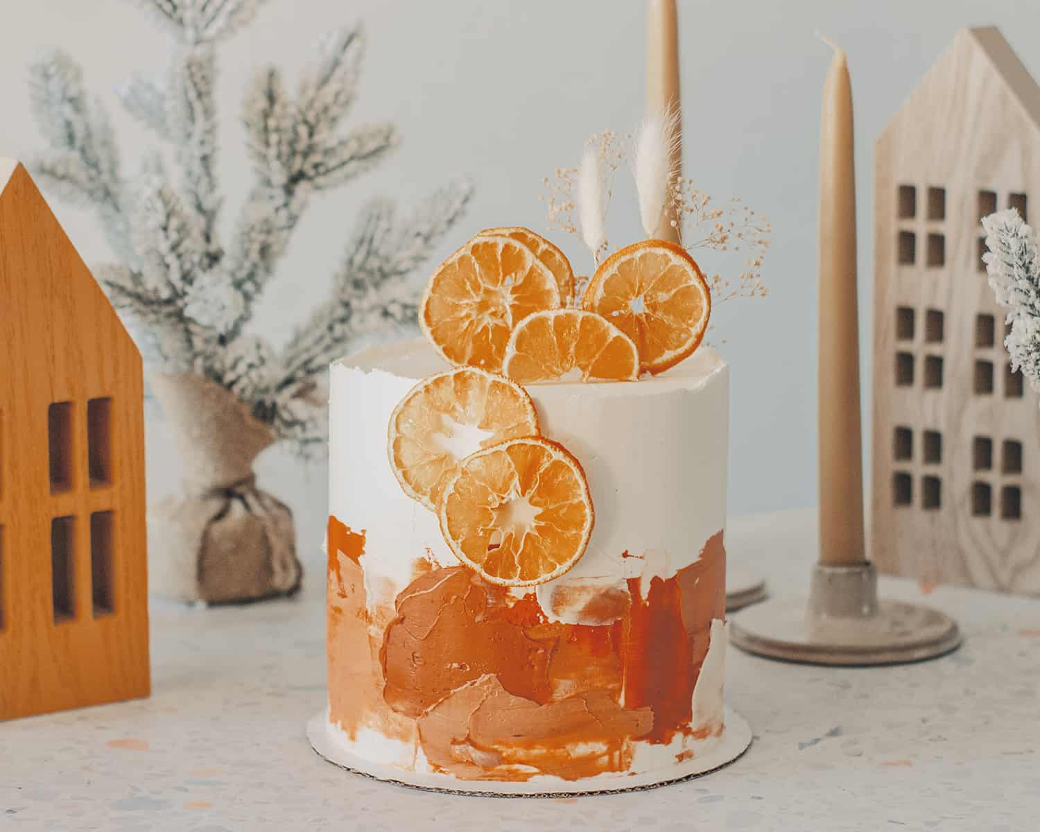 How to Make a Watercolor Cake - A Beautiful Mess