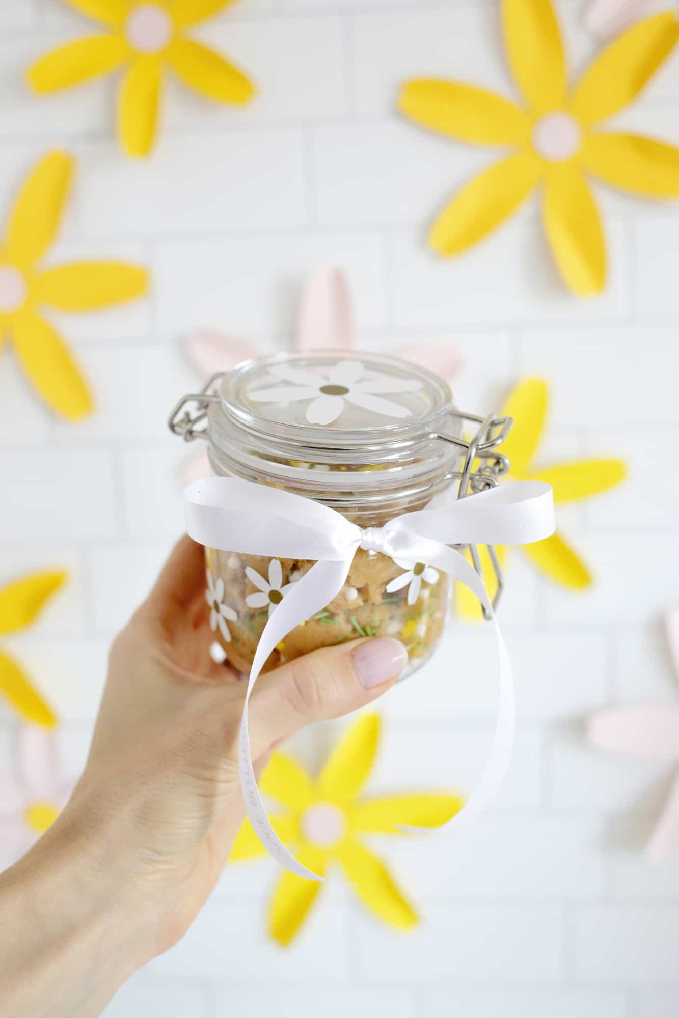 Personalized Spring Cookie Butter Gift click through for tutorial 1 4