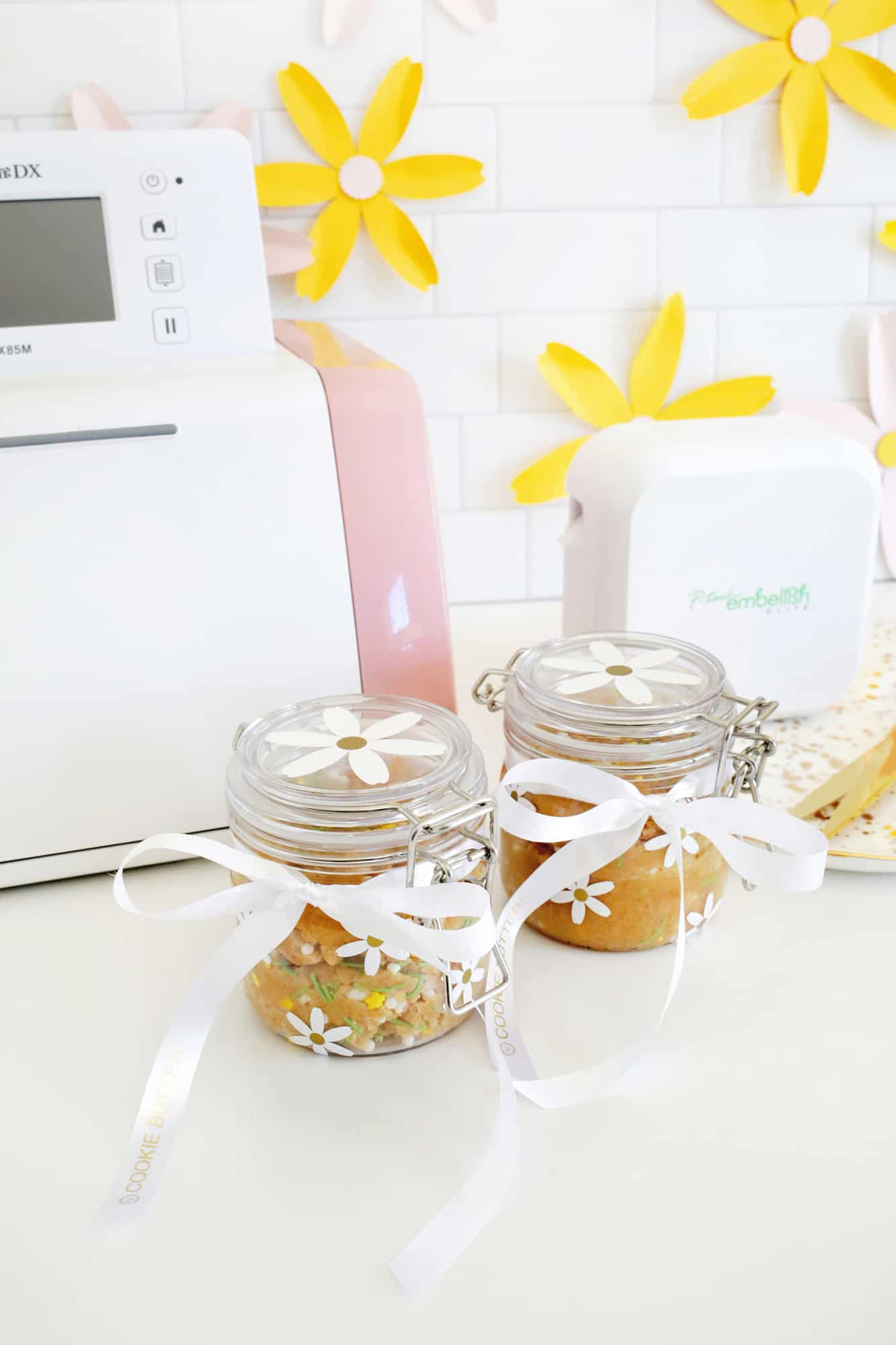 Personalized Spring Cookie Butter Gift click through for tutorial 1 7