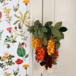 floral mobile DIY