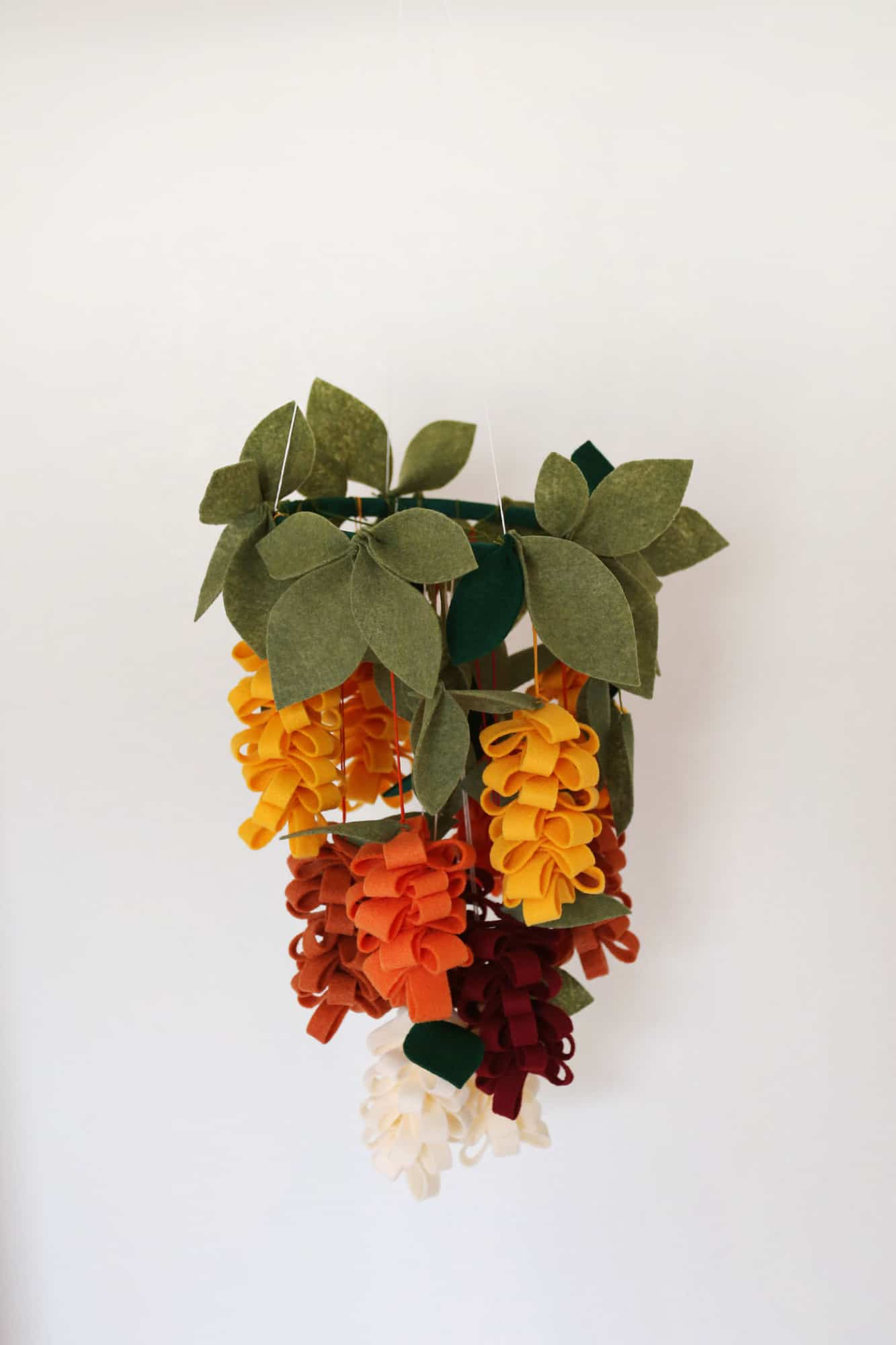 flower mobile DIY