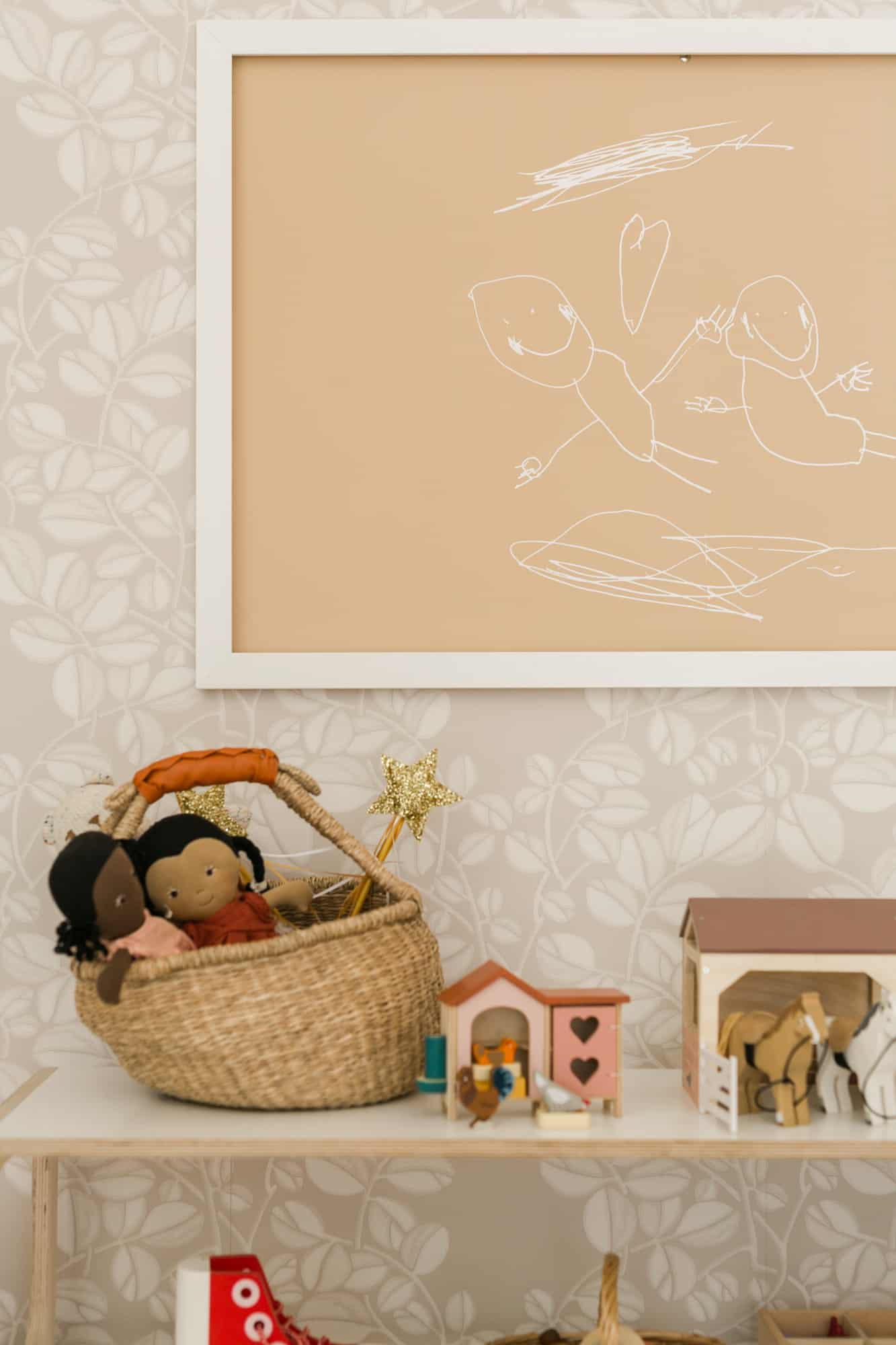 How to turn your kids drawing into a grapic art print