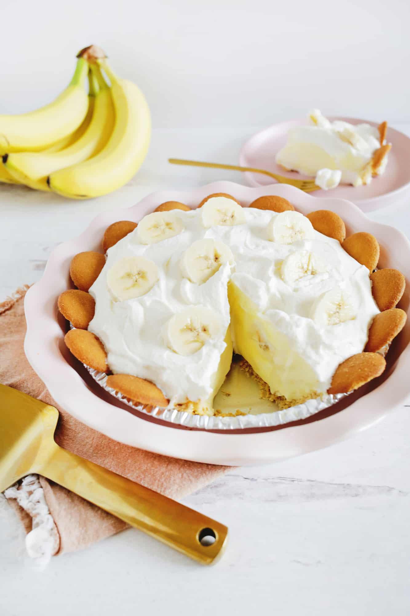 The Best No-Bake Banana Cream Pie