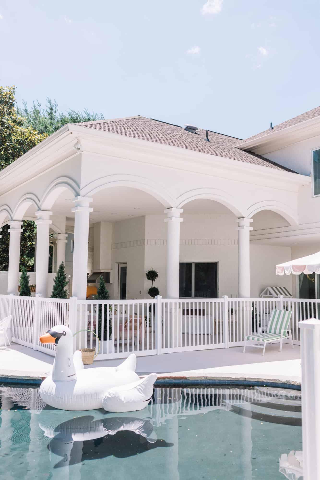 Elsie's Back Porch + Pool Tour