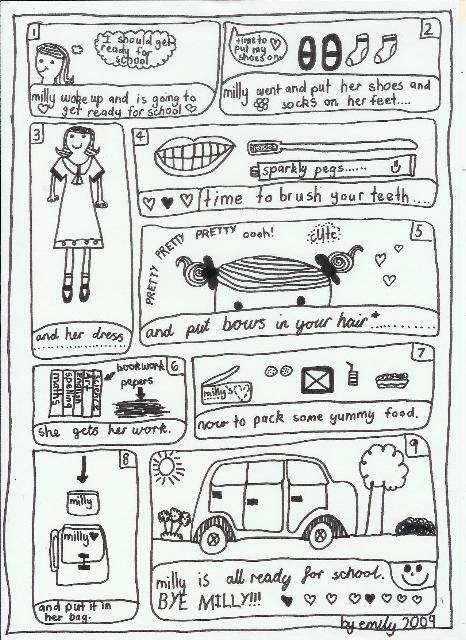 Emily's Comic Art