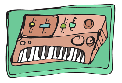 Keyboard-peek