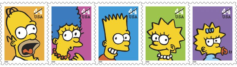 90227_televisions-animated-simpson-family-on-a-new-set-of-stamps