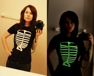 Glow-shirts