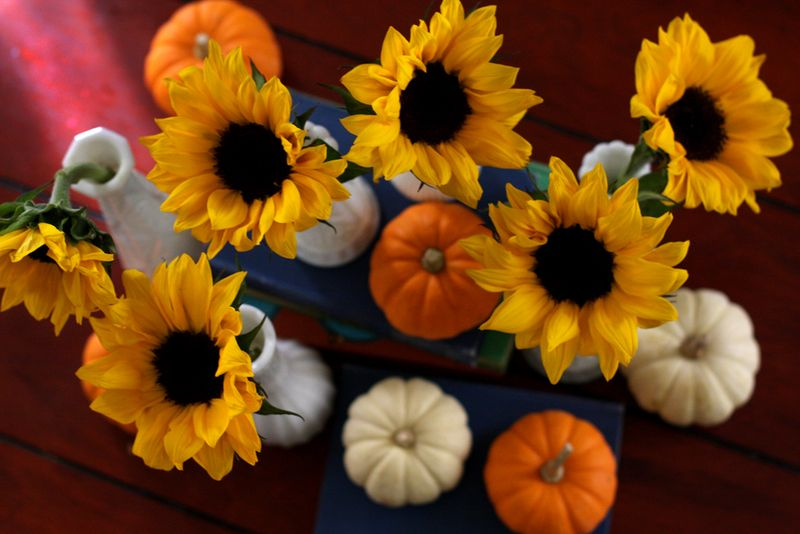 Sunflowers-autumn-decor
