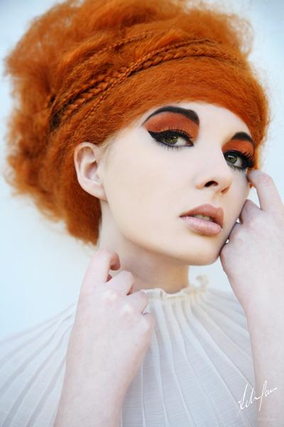 Orange-hair-model