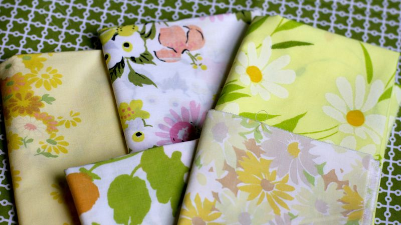 Fabric floral