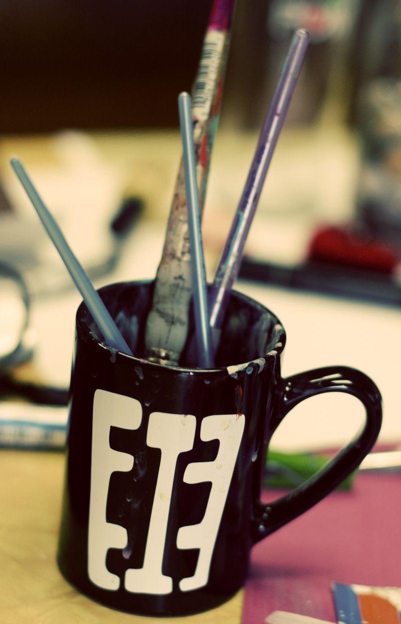 Diy-paint brushes