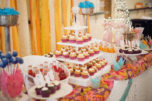 Elsie Jeremy Dessert Table